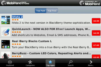 Third party store for BlackBerry app-ears day before expected RIM launch of App World