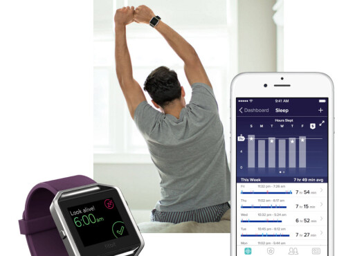 Fitbit Blaze functionality