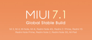 Xiaomi sends out update to MIUI 7.1, based on KitKat
