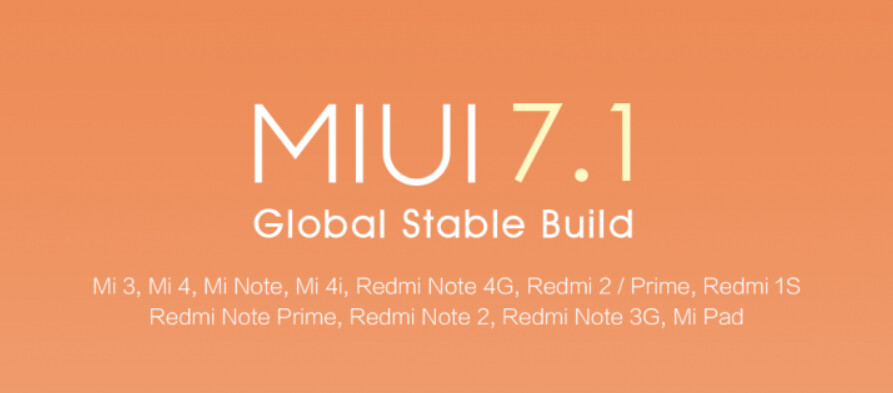 Xiaomi sends out update to MIUI 7.1, based on KitKat - Xiaomi starts pushing out MIUI 7.1; new build still based on KitKat