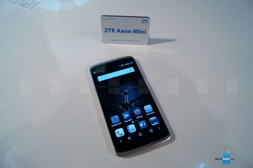 ZTE Axon Mini hands-on