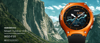 Casio unveils rugged Android Wear smartwatch with dual-layer display
