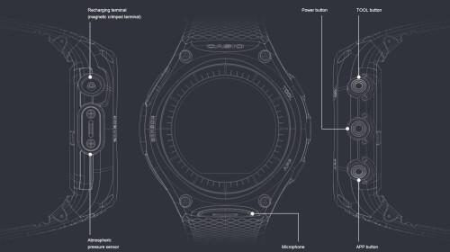 Casio Smart Outdoor Watch, model WSD-F10