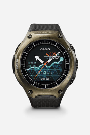 Probably the toughest Android Wear watch made so far - Casio unveils rugged Android Wear smartwatch with dual-layer display