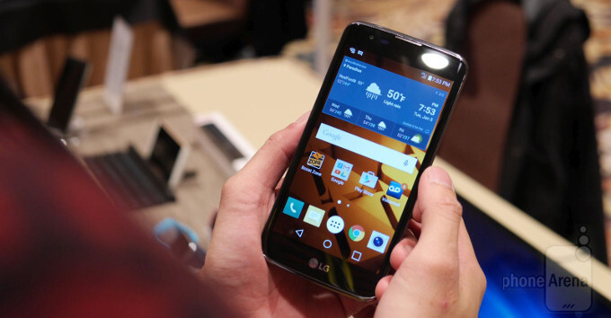 LG K7 (a.k.a. Tribute 5) hands-on