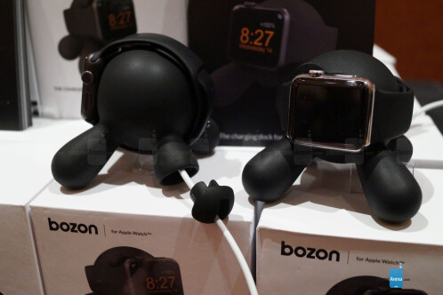 Actionproof Bozon Apple Watch charging dock hands-on