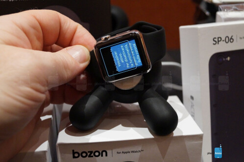 Actionproof Bozon Apple Watch charging dock hands-on