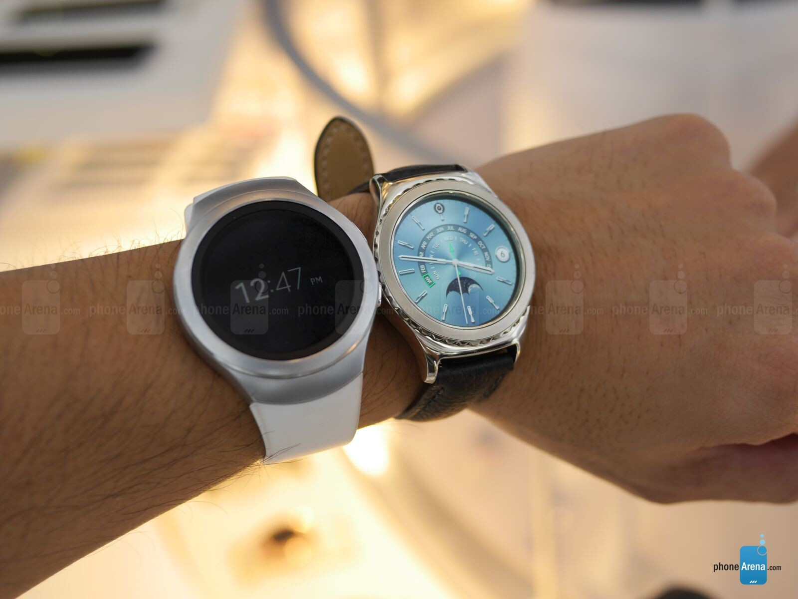 Image From Samsung Gear S2 Classic Platinum And Rose Gold Hands On Arena Electrical Wiring Diagrams