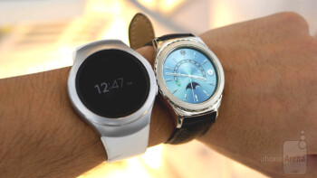 Samsung Gear S2 Classic Platinum and Rose Gold hands-on