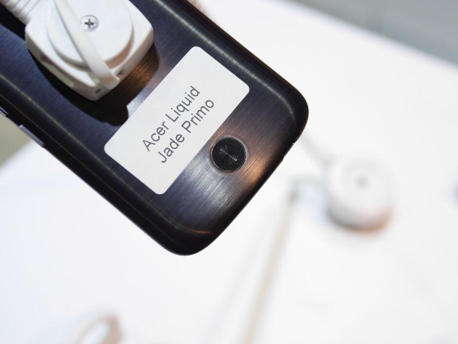 Acer Liquid Jade Primo: Hands-on