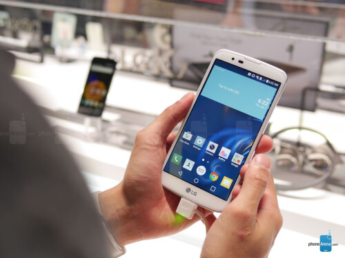 LG K10 hands-on