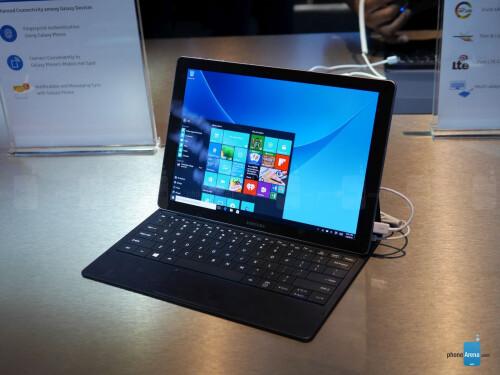 Samsung Galaxy TabPro S photos