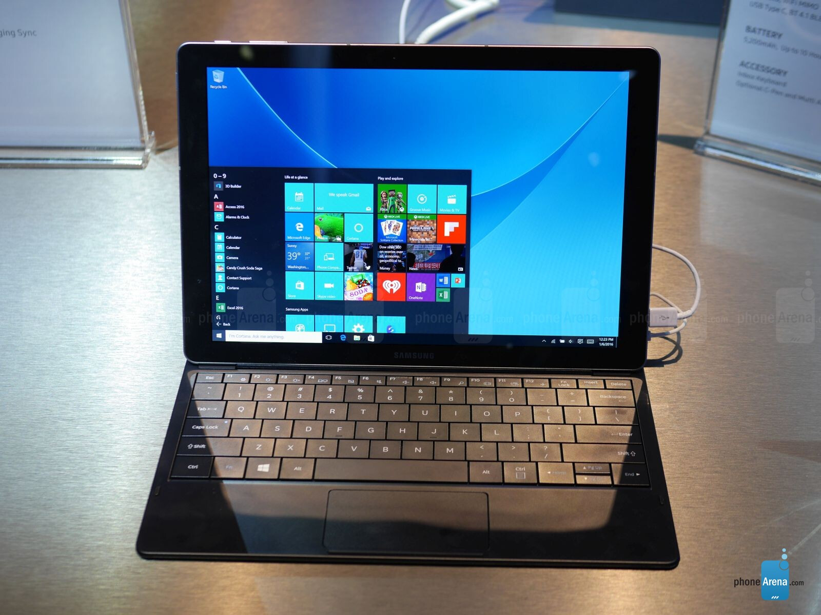 Samsung Galaxy TabPro S hands-on: a Surface competitor ...