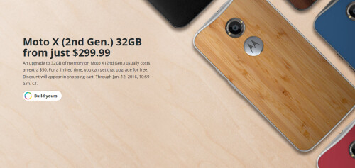Deal: save $100 if you get both the Moto X Pure Edition and the Moto 360 (2015) from Motorola