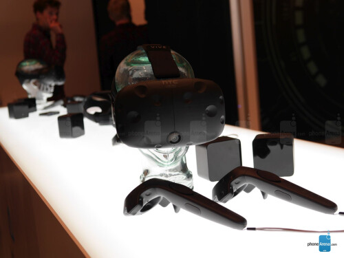 HTC Vive Pre hands-on