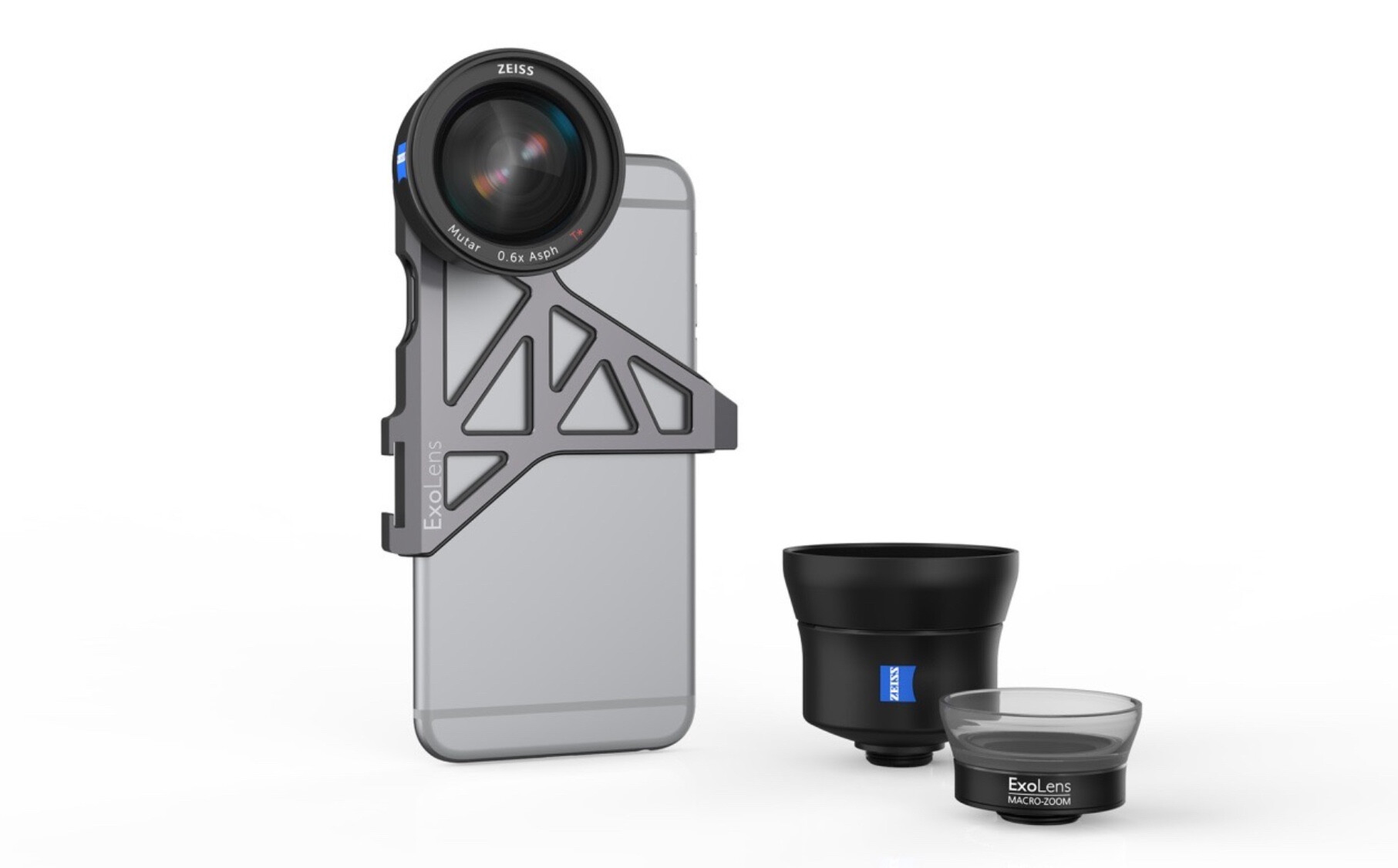 ExoLens shows premium iPhone camera lens attachments with ...