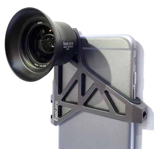 ExoLens iPhone camera lens attachments with Zeiss optics
