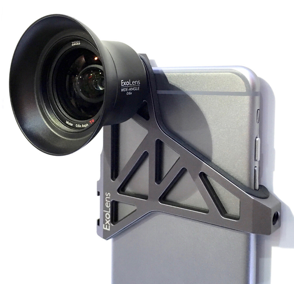 iphone camera lens. exolens iphone camera lens attachments with zeiss optics - image from shows premium iphone