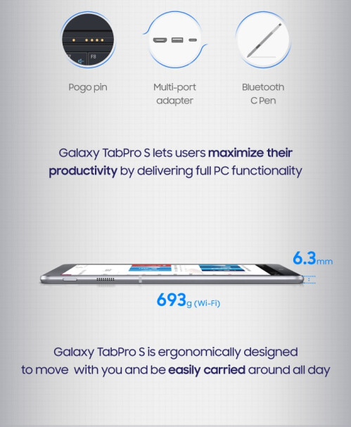 Meet the Samsung Galaxy TabPro S
