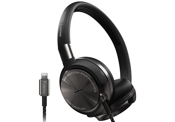 The Philips Fidelio NC1L feature a Lightning connector and active noise cancellation - Ready for iPhone 7: the headphones with Lightning connector announced so far