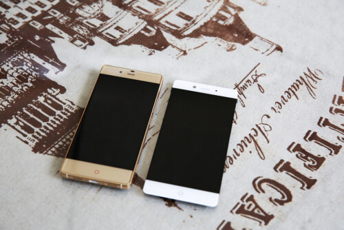 Nubia Z9 on left and Nubia Z11 on right
