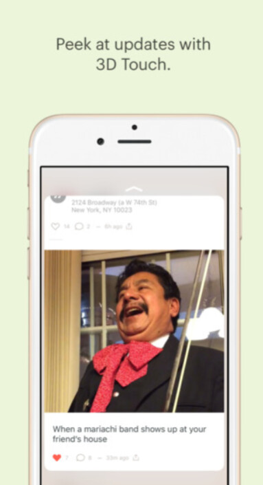 Peach is a new social-networking app that is currently for iOS users only