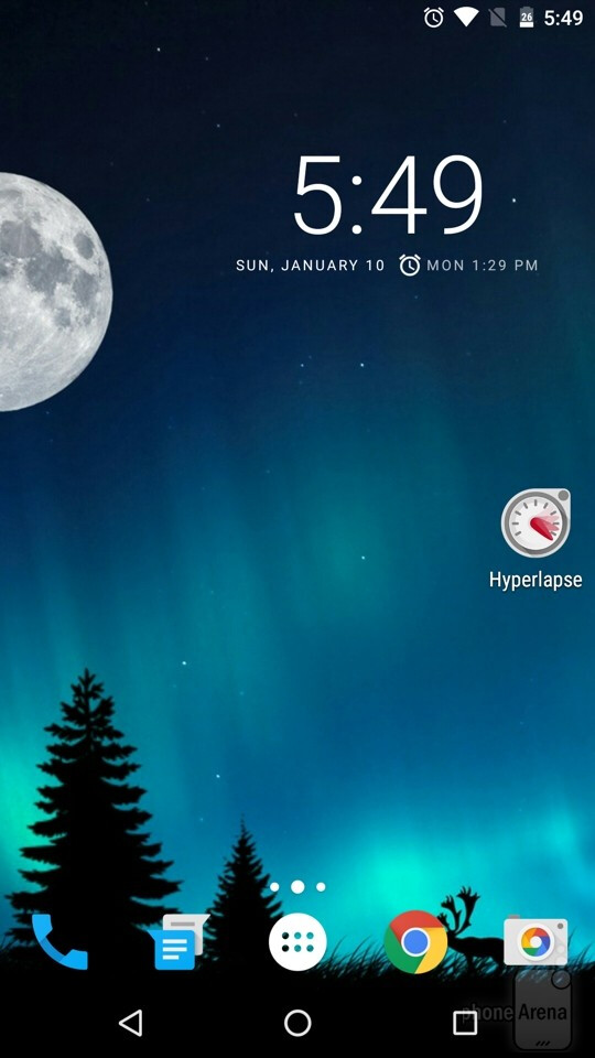 We've placed the Microsoft Hyperlapse Mobile app on our home screen.