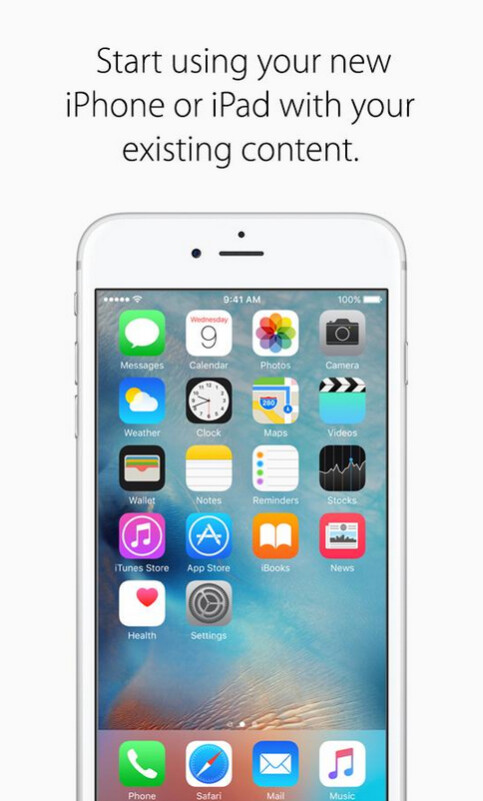 Apple's Move to iOS moves your content from an Android phone to an iPhone; Apple is said to be working on an app that does the opposite
