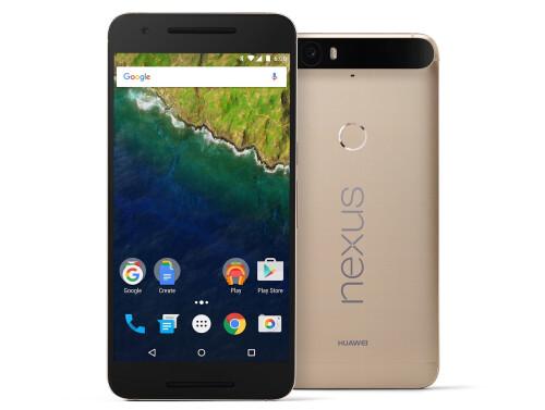 Golden Nexus 6P lands in the US