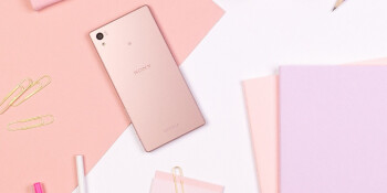 Pretty in pink: the Sony Xperia Z5 lineup scores an alluring, dusty pink color version