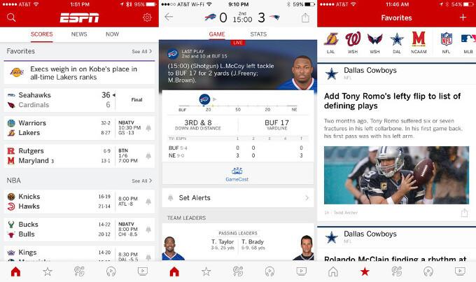 ESPN - Best iPhone apps (2020)