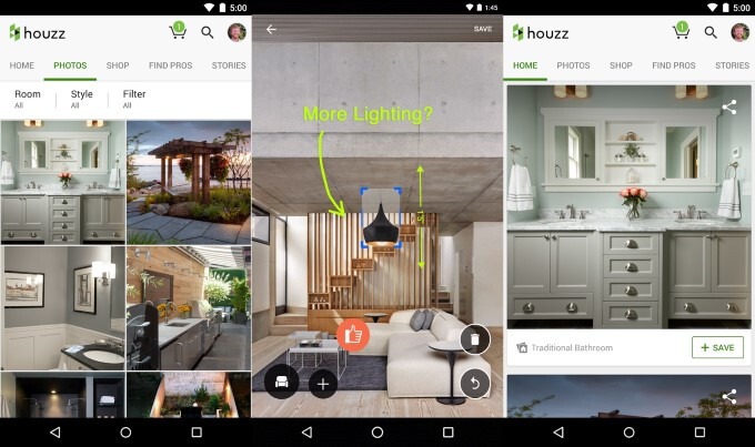 Houzz - Best Android apps