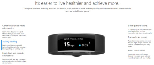 Get up to $250 in credit toward a Microsoft Band 2 by trading in a working smartwatch or fitness band