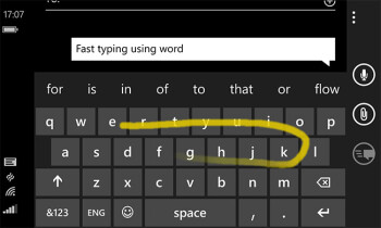 Microsoft Word Flow keyboard coming to iOS and Android?