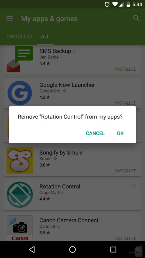How to find uninstalled Android apps and reinstall them
