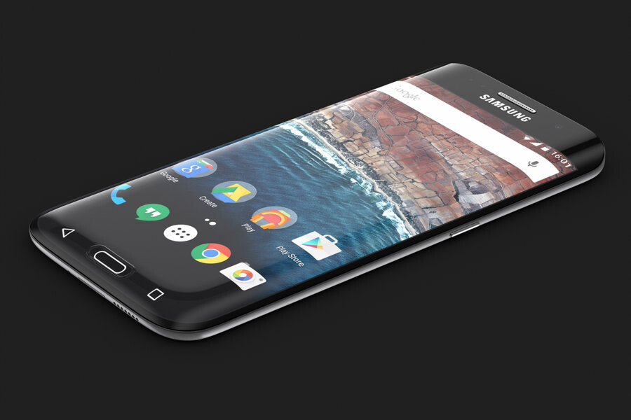 this wild samsung galaxy s7 edge concept dreams of a phone. Black Bedroom Furniture Sets. Home Design Ideas