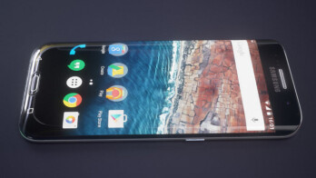 This wild Samsung Galaxy S7 Edge concept dreams of a phone with a triple curve, microSD card slot