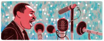 Google's MLK doodle