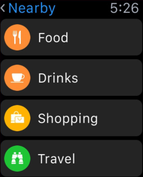 Nearby helps you find places to eat,places to shop and more...