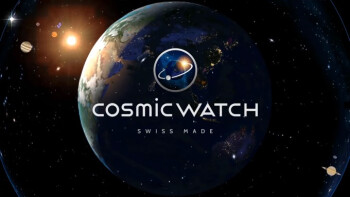 Spotlight: Cosmic Watch is a Swiss Made planetary clock with gorgeous space visuals