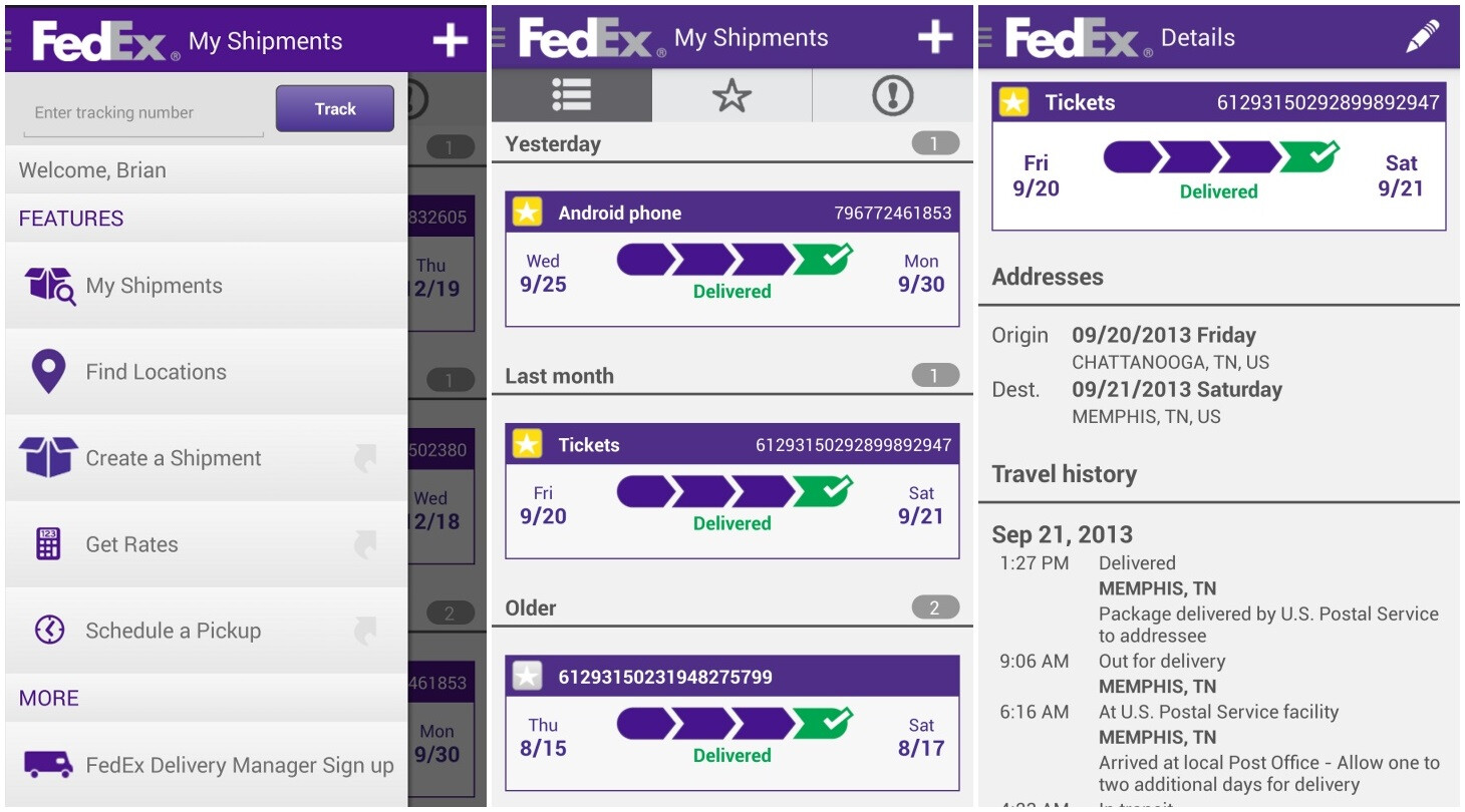 tracking your shipment or packages fedex autos post. Black Bedroom Furniture Sets. Home Design Ideas