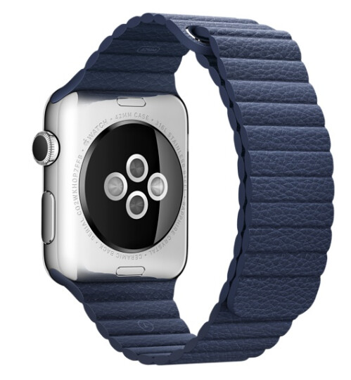 Apple's own leather loop