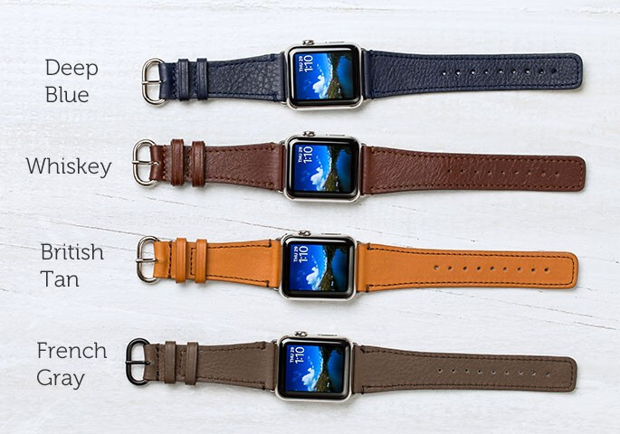 Classic Leather Band - $99.95