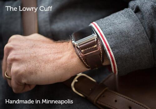 Lowry Leather Cuff - $129.95