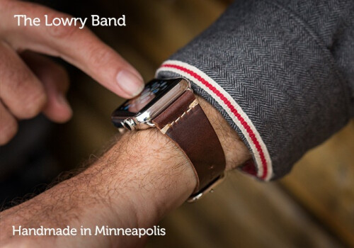 Lowry Leather Band - $109.95