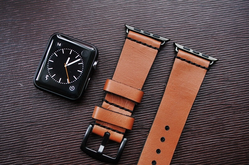 0aa621c63bfcfa Gorgeous leather bands for the Apple Watch that are worth checking ...
