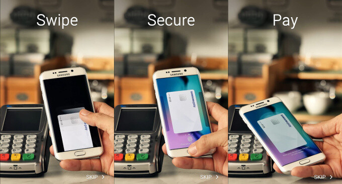 Samsung Pay - Apple Pay vs Samsung Pay vs Android Pay: comparison