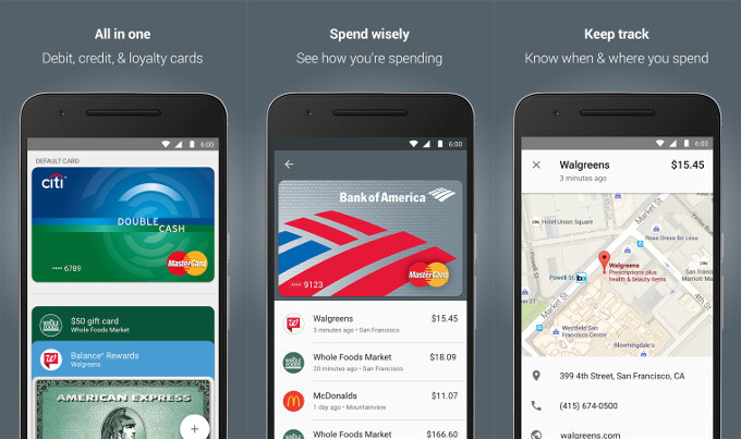 Android Pay - Apple Pay vs Samsung Pay vs Android Pay: comparison