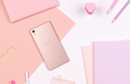 The Dusty Pink Sony Xperia Z5