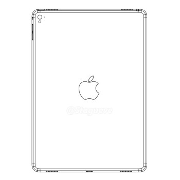 An alleged leaked iPad Air 3 schematic